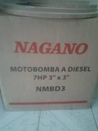 Moto bomba a diesel 7hp