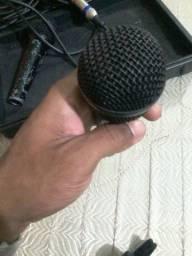 2 microfones profissionais behringer + 10metros de cabo