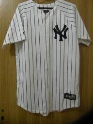 Camisa de baseball masculina NY original(Leia o anúncio) cd8ca995ceb18