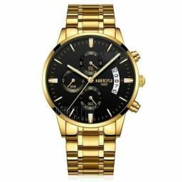 Relógio importado nibosi ORIGINAL!!!MICA DE SAFIRA