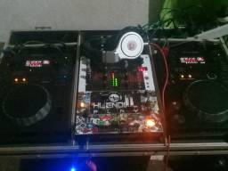 Kit cdj pionner 350 djm 400 pionner e headfhone