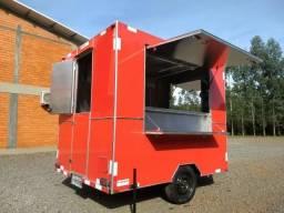 Trailer Food Truck Comércio de Lanches