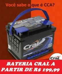Bateria para Carro (Cral 50Ah em Promoção)Ligue 4103-1133