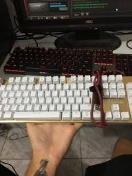Teclado mecanico YS-K600 led