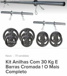 Kit anilhas 30kg