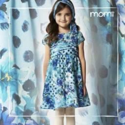 Vestido Momi T4 R$50,00 vestido infantil