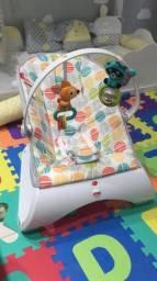 Cadeirinha de bebê vibratória Fisher price