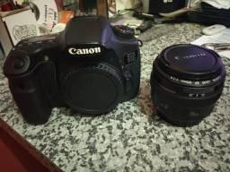 Canon 60D + lente 50mm Ef 1.4