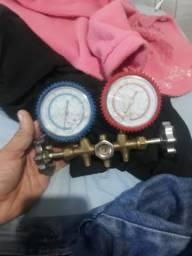 Vendo relógio de pressão de ar