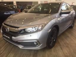 Honda Civic 2.0 EXL 20/20 Prata (Preço para pagamento à vista) R$116.980,00
