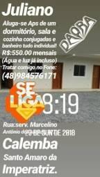 Alugo Apartamento. R$550,00!