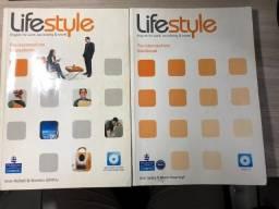 Livro Life Style - Pre-intermediate - Coursebook + WorkBook