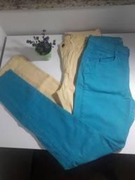2 Calças Coloridas Marisa
