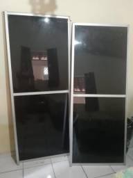 Vendo duas portas de vidros