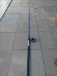 Vara de pesca com carretilha Tramontina