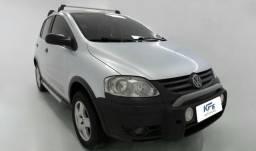 VW Volkswagen Crossfox 1.6 Prata 2007 Completo - 2007