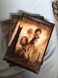 DVDS SENHOR DOS ANÉIS  + o hobbit