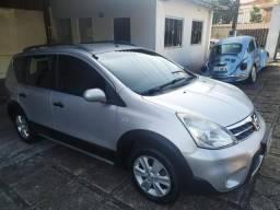Nissan Livina X-GEAR SL 1.6 Único Dono com couro 2012