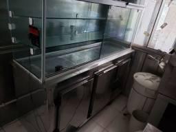 Condimentadora e Refrigerador + expositor