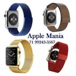 Pulseiras Milanese para Apple Watch*Várias Cores