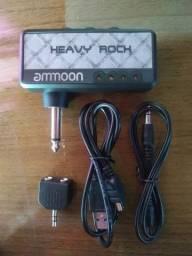 Amplificador de guitarra para fone de ouvido(toque na sua jbl.)