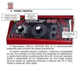 Spotcar 840 repuxadeira elétrica - 220v monofásico - com vermelho