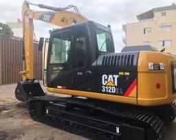 Escavadeira CAT 312 D 2019 (não sou da multimarcas consórcios)