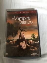 DVD PRIMEIRA TEMPORADA THE VAMPIRE DIARIES