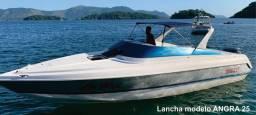 Lancha Angra 25 motor Yamaha 200 gasolina