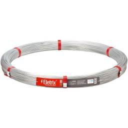 Arame liso cerca elétrica - Eletrix 1.000 m - Belgo - 04 rolos