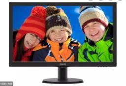 Monitor Philips Full Hd hdmi semi-novo