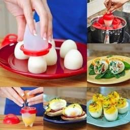 Formas de silicone para ovos 6 unidades
