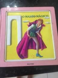 O manto mágico, coleção sapeca, editora maltese