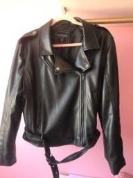 Jaqueta de couro tamanho GG