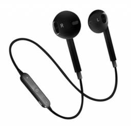 Headset/Fone de Ouvido S6 Universal Bluetooth 4.1 sem Fio Intra-Auricular Esportivo