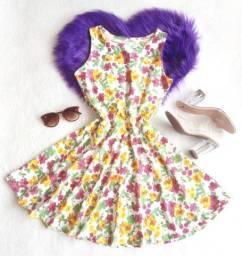 Lindo vestido rodado