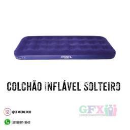 COLCHÃO INFLÁVEL SOLTEIRO