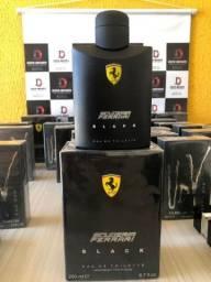 Perfume importado Ferrari Black 200ml lacrado