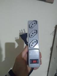 Filtro de linha extensão com proteção eletrônica