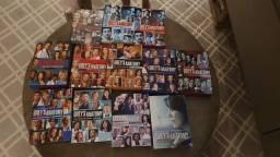 Título do anúncio: Coleção de DVDs Originais da série Grey's Anatomy / A Anatomia de Grey 1ª à 11ª temporada