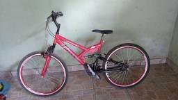 Bicicleta 18 marchas, aro 26, entrego somente em Ponte Nova