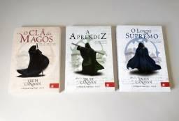 Livros Trilogia Mago Negro ( novos )