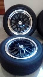 Roda aro 15 furação 4x108 Ford < Citron e Peageut Marca Krmai Modelo K50