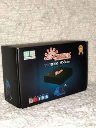 Título do anúncio: Tv Box 4K Wifi 5G 256Gb Ram 16G Última Geração<br><br>
