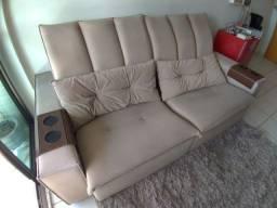 Título do anúncio: Sofá alto padrão retrátil reclinável 2.20m x 1.10m