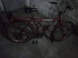 Título do anúncio: Vende-se uma bicicleta Monark de marcha