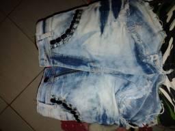Short jeans, tamanho 38