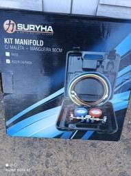 Kit manifold R22 completo c maleta!!(novo)