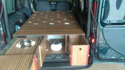 Título do anúncio: Doblô motorhome (kit de móveis)