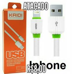 Carregador USB lithining iPhone Atacado